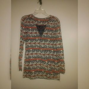 Lucky Brand Tops - Lucky Brand Pattern Top